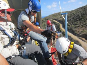 Wind Turbine Rescue Training 1