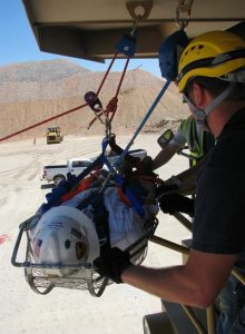 Surface Mine Rescue Training 1