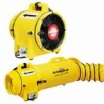 Ramfan Blower 8-inch: Quick-couple Cannister